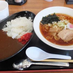 勝ちどき食堂の激安カレーライスと醤油ラーメン(太田市)