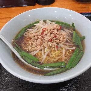 台湾ラーメン+牛肉飯(台湾料理一龍)