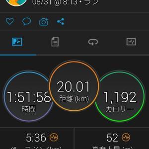 マラソン 8月の結果は