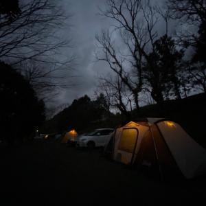 【No12】春の嵐。 かずさオートキャンプ場 その2 (反省編)