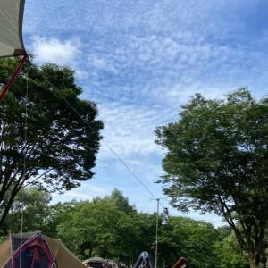 【さよならエスティマ】明けない梅雨の鳥野目公園オートキャンプ場(No18)