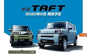 タフト(ダイハツ)はサンルーフが標準装備!燃費やMT車の有無、発売日などまとめ!