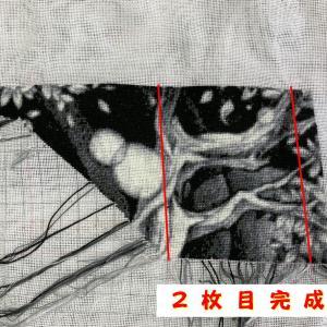 【HAED】白黒猫ちゃん2枚目完成~