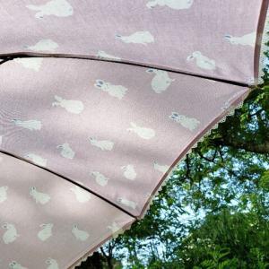 《webうさ2》今日はこの仔とおでかけ♪うさぎの日傘