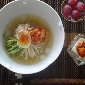 業務スーパーの韓国冷麵!