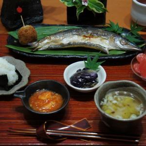 焼き魚定食 お家ごはん!
