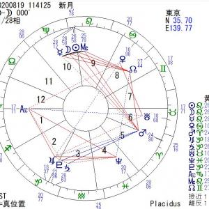 【新月】8月19日(水):流れに乗っていこう☆自分が主役の人生にするための時間