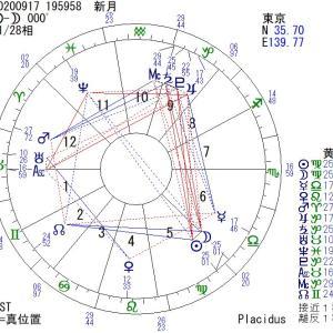 【新月】9月17日(木):着実に歩む☆目標設定が願望実現の秘訣