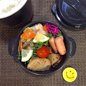 秋鮭のちゃんちゃん焼き風弁当【秋の味覚と食欲の秋】