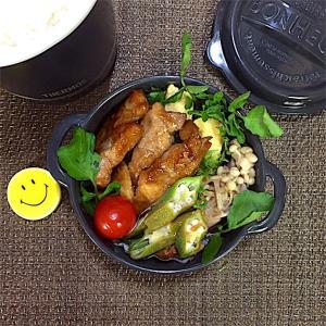 【食欲の秋】モリモリ食べよう!トンテキ弁当!