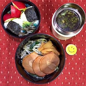 【簡単】ラーメン弁当でスープジャーが大活躍の季節!