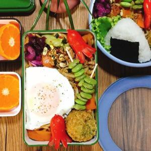 太麺焼きそばは、ほぐれやすいのでお弁当にもおすすめです!