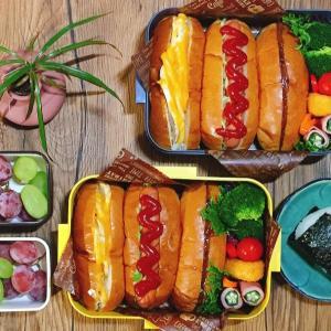 高校の球技大会なにするの?3種のホットドックでパン祭り!弁当