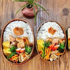 こどもの日のご飯&塩麹漬け豚肉ソテー弁当