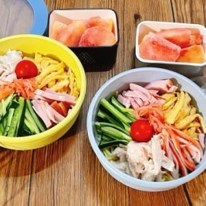 冷やし中華のお弁当に最適な麺!前日作って朝持ってくだけ