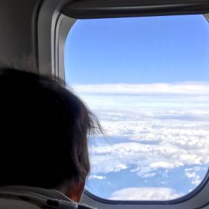 生後3ヶ月と飛行機
