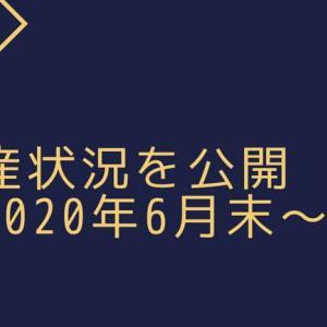 資産状況を公開 ~2020年6月末~