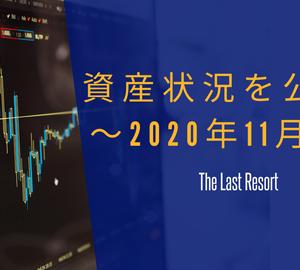 資産状況を公開 ~2020年11月末~