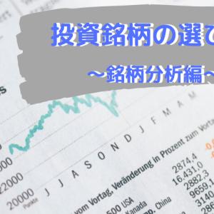 米国株投資銘柄の選び方 ~銘柄分析編~