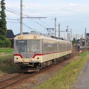 ようやくの富山来訪・不二越上滝線のラッシュ輸送(2)