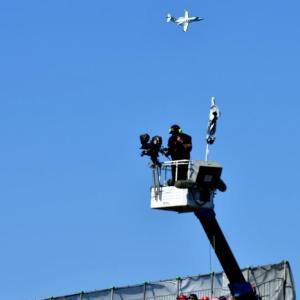 ホンダジェット、鈴鹿サーキットの上空を飛行!