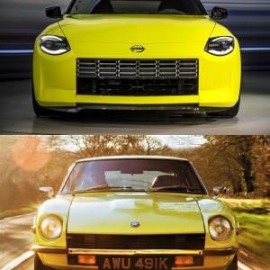 フェアレディZの新型プロトタイプと昔の240Zを比較!
