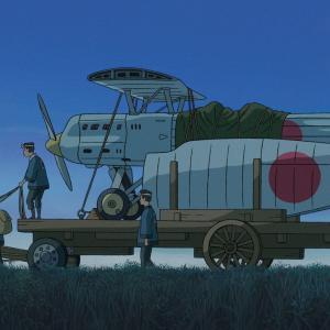 「風立ちぬ」から飛行機の絵・・・