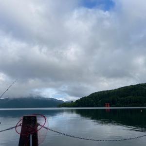 本当に最後の今シーズンの芦ノ湖