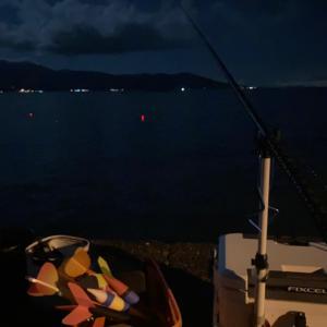 沼津大堤防でカゴ釣り