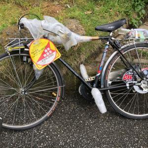 ヤバイ自転車が資源ゴミで出されてる(  Д ) ⊙ ⊙
