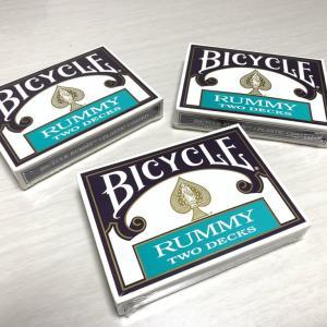【Bicycle Rummy】個人的にはマストバイデックでした!オールドデックはやっぱり最高!