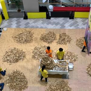 親子で楽しめる!「30,000 個の積み木」を使って、自由に作品を作るイベントに参加(口コミ・感想など)