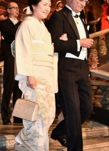 ノーベル賞晩餐会での日本人受賞者の夫人の着物画像まとめ!