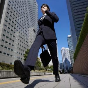 仕事で歩くのは、趣味で走るより疲れるなぁ~