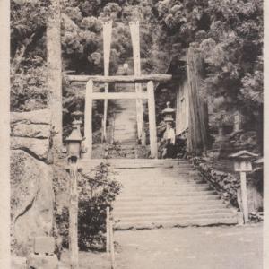 古い葉書に見る鳥海山大物忌神社