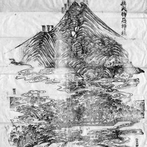 鳥海山古絵図