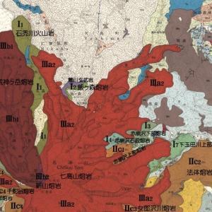 鳥海山の地質図を見て楽しむ