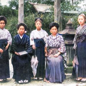 昭和十年代のお嬢さんたち