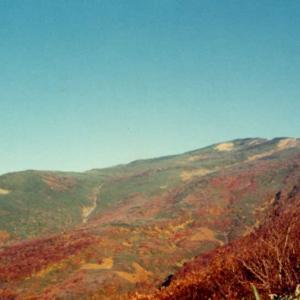 鳥海山と津軽三味線