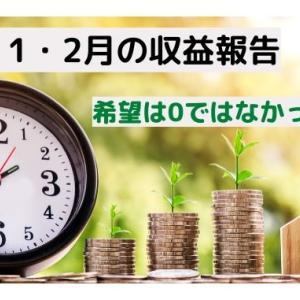 【1・2月の収益報告】有難き幸せ。希望は0ではない。【Googleアドセンス】
