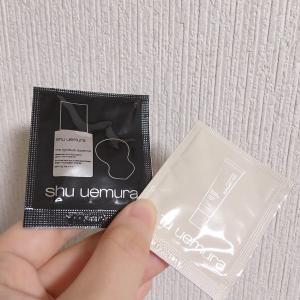 ファンデサンプルレビュー!shu uemuraのツヤファンデをお試ししました。