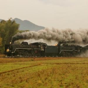 令和元年11月24日 SLやまぐち往路 今年最後の定期運行は重連で大騒ぎ