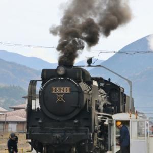 令和元年11月24日 SLやまぐち復路 開始は人ごみを避けて。追っかけは無理か!?