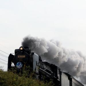 令和元年12月21日 山口線SL地福ナイトフェスティバル号往路 まだ昼間です