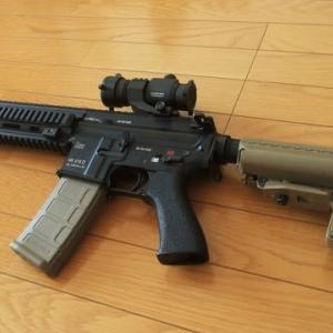 マルイ HK416D デブグル パワーカスタムγ 分解編