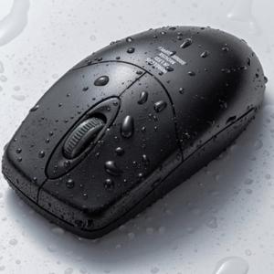 水洗いができるマウス!?