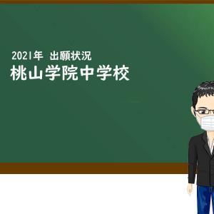2021年 桃山学院中学校 出願状況