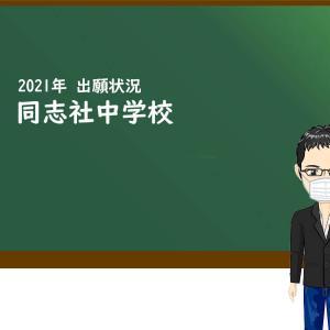 2021年 同志社中学校 出願状況