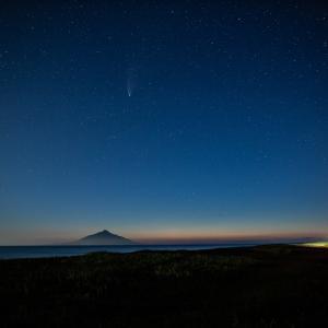 ネオワイズ彗星ラスト