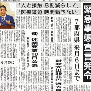 【緊急事態宣言】辻褄のあわない『行動抑制基準』 準備不足も明らか
